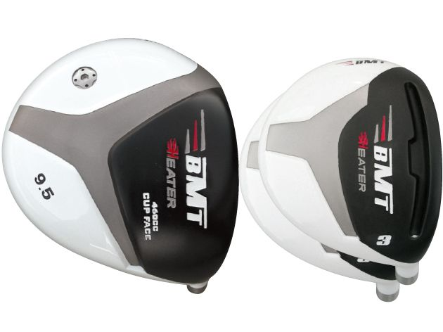 Built Heater BMT Titanium Driver + 2 x BMT Fairway Woods