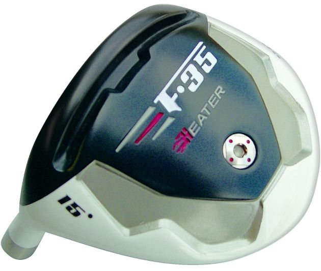 Built Heater F-35 Titanium Driver + 2 x Fairway Woods Left Hand