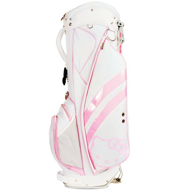 Hello Kitty Diva Stand Bag - White