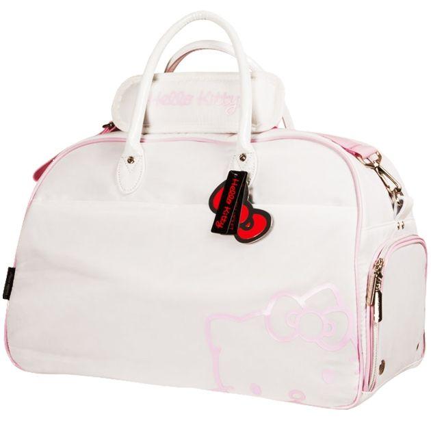 Hello Kitty Diva Duffle Bag - White