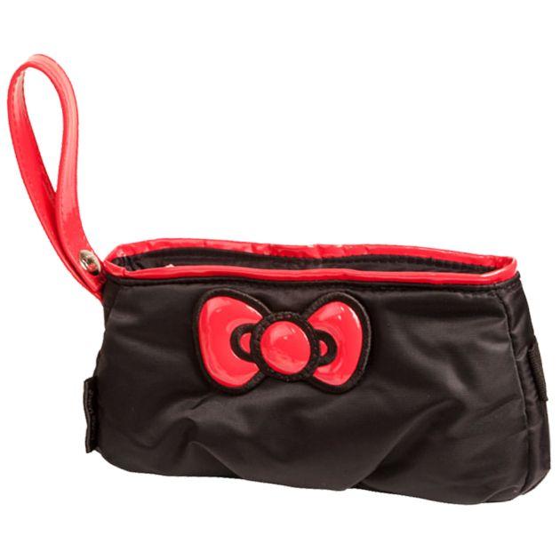 Hello Kitty Diva Pouch Bag - Black