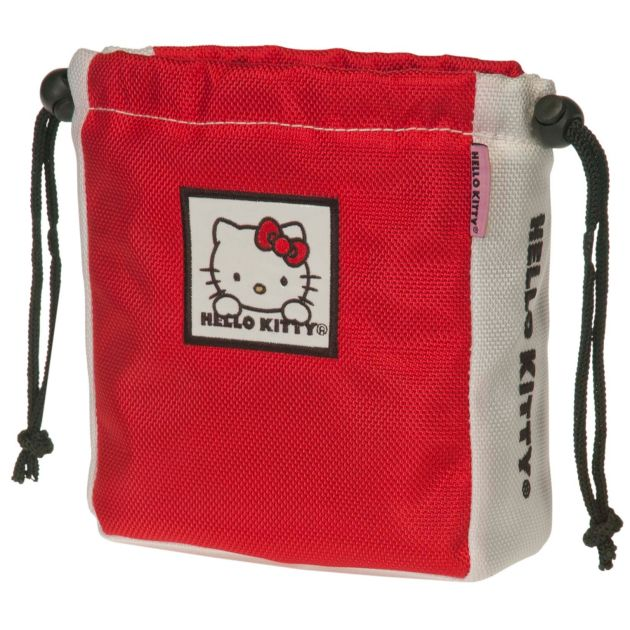 """Hello Kitty Golf """"The Collection"""" Ball & Tee Holder - Red"""