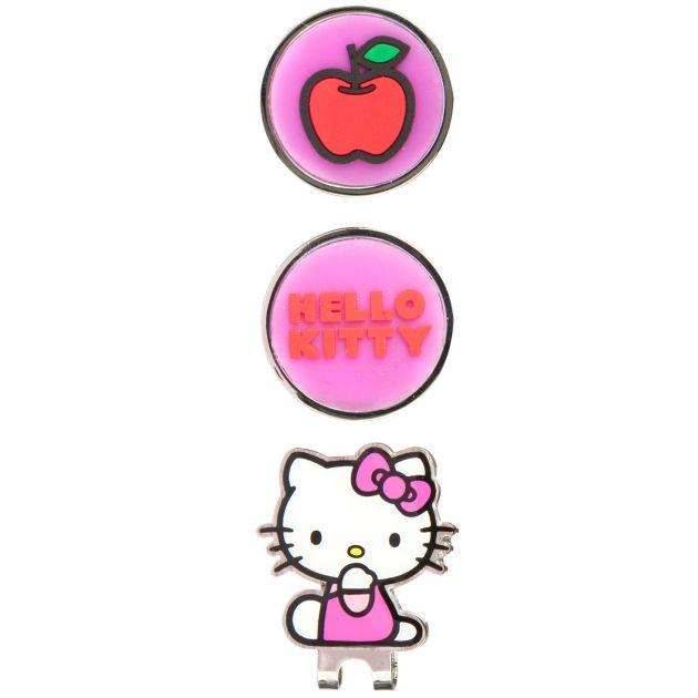 Hello Kitty Golf Hat Clip & Ball Marker - Kisses