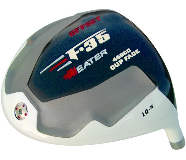 Heater F-35 Cup Face Offset Titanium Driver Head Left Hand