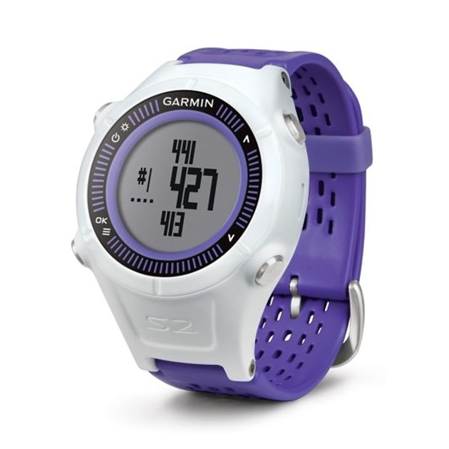 Garmin Approach S2 GPS Golf Watch - Purple/White