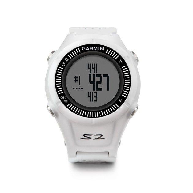 Garmin Approach S2 GPS Golf Watch - White/Gray