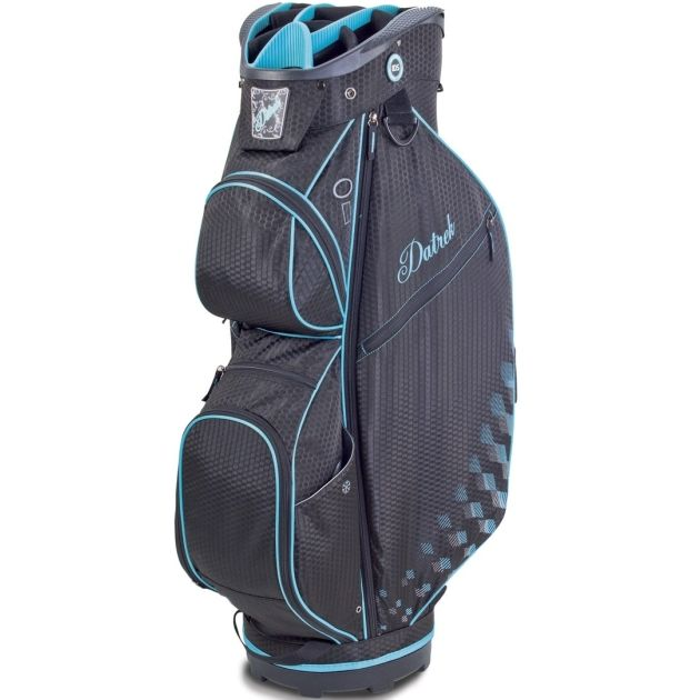Datrek CB Lite Cart Bag - Black/Turquoise