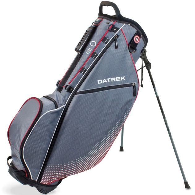 Datrek Go Lite Pro Stand Bag - Charcoal/Red/White