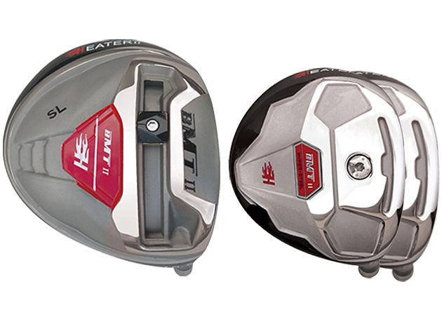 Built Heater BMT2 Titanium Driver + 2 x Fairway Woods