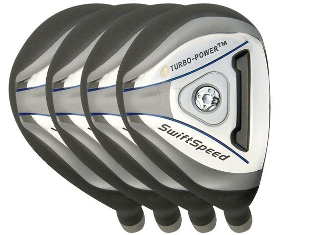 Built Turbo Power SwiftSpeed Hybrid 4-Club Graphite Set
