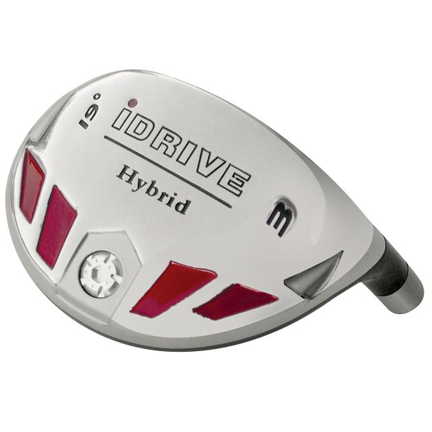 Built iDrive Hybrid 9-Club Graphite Set