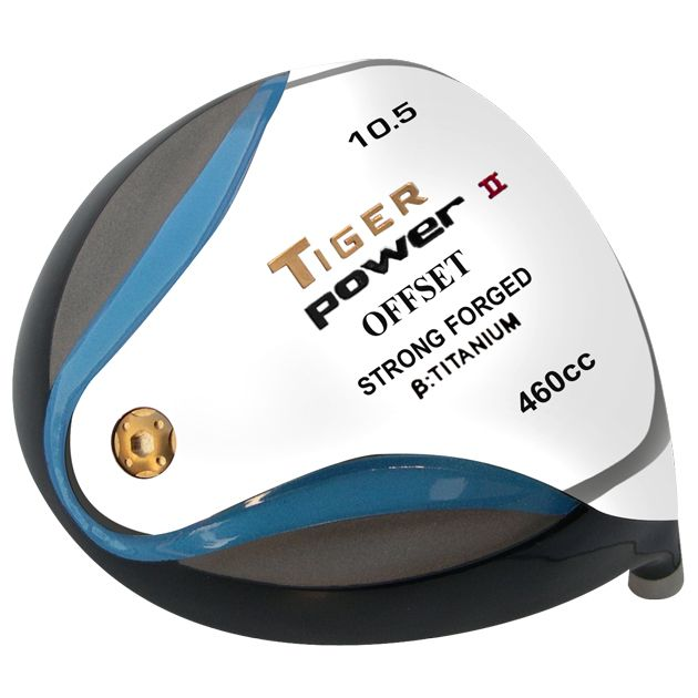 Custom-Built Tiger Power II Offset Titanium Driver