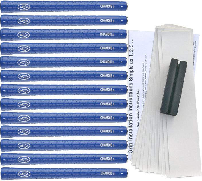 Avon Chamois II Standard Blue - 13 pc Grip Kit