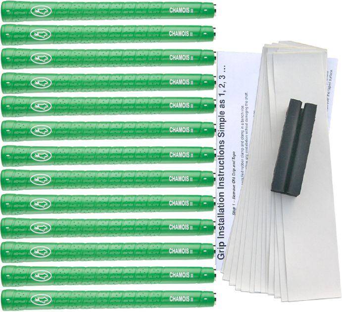 Avon Chamois II Jumbo Green - 13 pc Grip Kit