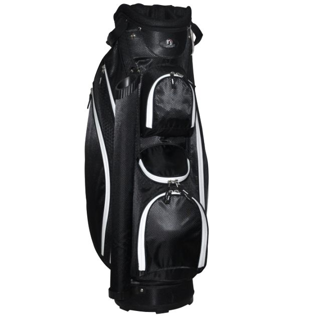 "RJ Sports Venice 9"" Cart Bag - Black"