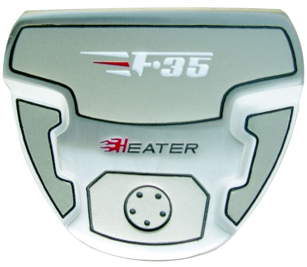 Custom-Built Heater F-35 Mallet Putter