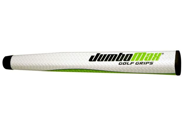 JumboMax Mid-Jumbo Putter Grip - White/Lime
