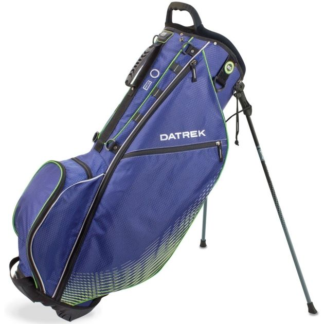 Datrek Go Lite Pro Stand Bag - Navy/Lime/Silver