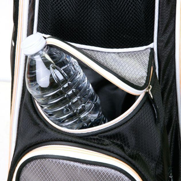 Sahara Baja Lite Golf Cart Bag Navy/Gray/Orange