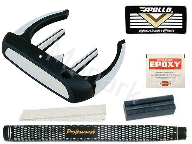 Turbo Power Gryphon Mallet Putter Component Kit - Left Hand