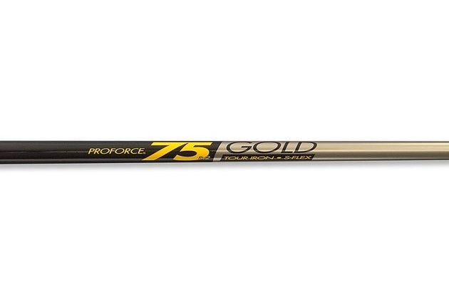 UST ProForce RV2-75 Gold Tapered 0.355""