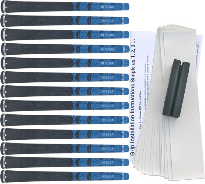 Integra Dual Compound Standard Blue/Black - 13 pc Grip Kit