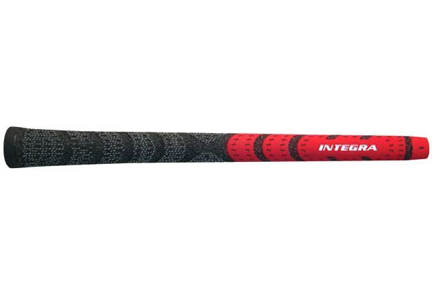 Integra Dual Compound Half-Cord Midsize Red/Black - 13 pc Grip Kit