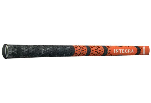 Integra Dual Compound Half-Cord Midsize Orange/Black - 13 pc Grip Kit