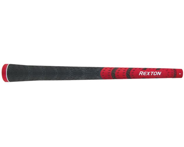 Rexton Dual-Texture Standard Red/Black Grips