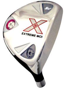 Built X9 Extreme MOI Titanium Driver + 2 x Fairway Woods Left Hand