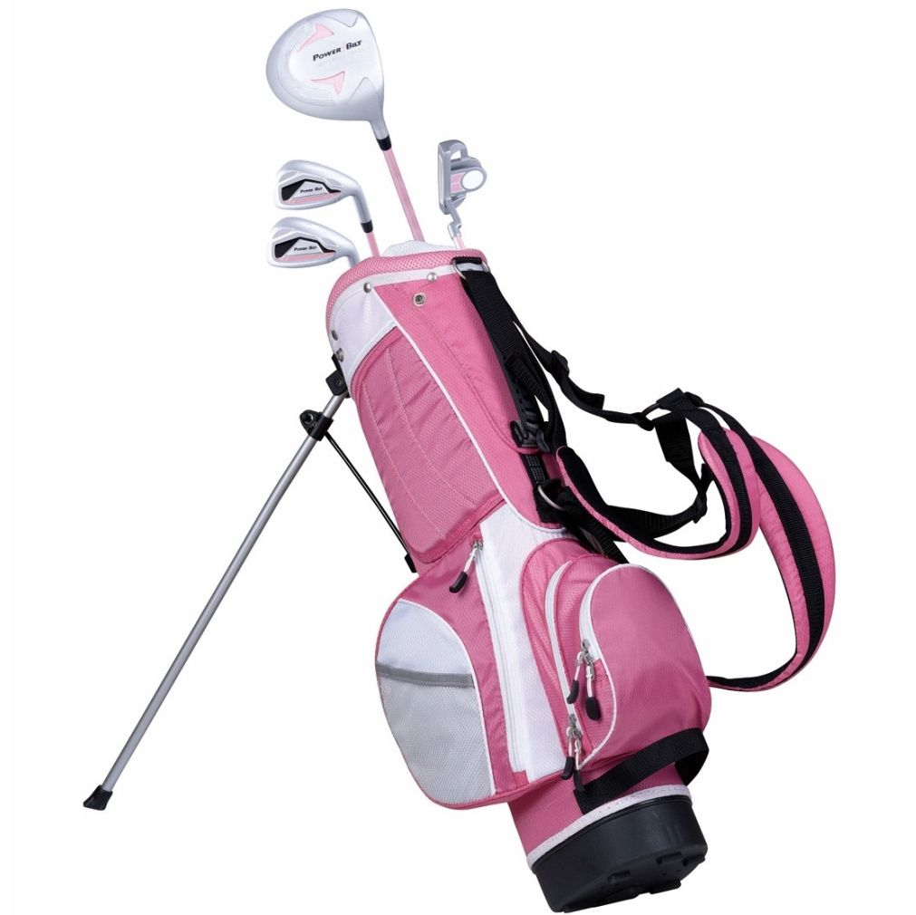 PowerBilt Junior Girls' Ages 5-8 Pink Series Set