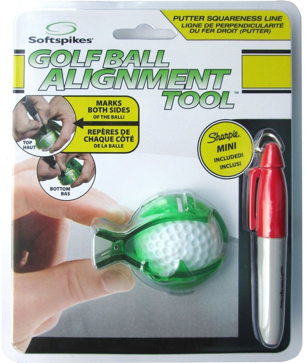 Softspikes Golf Ball Alignment Tool