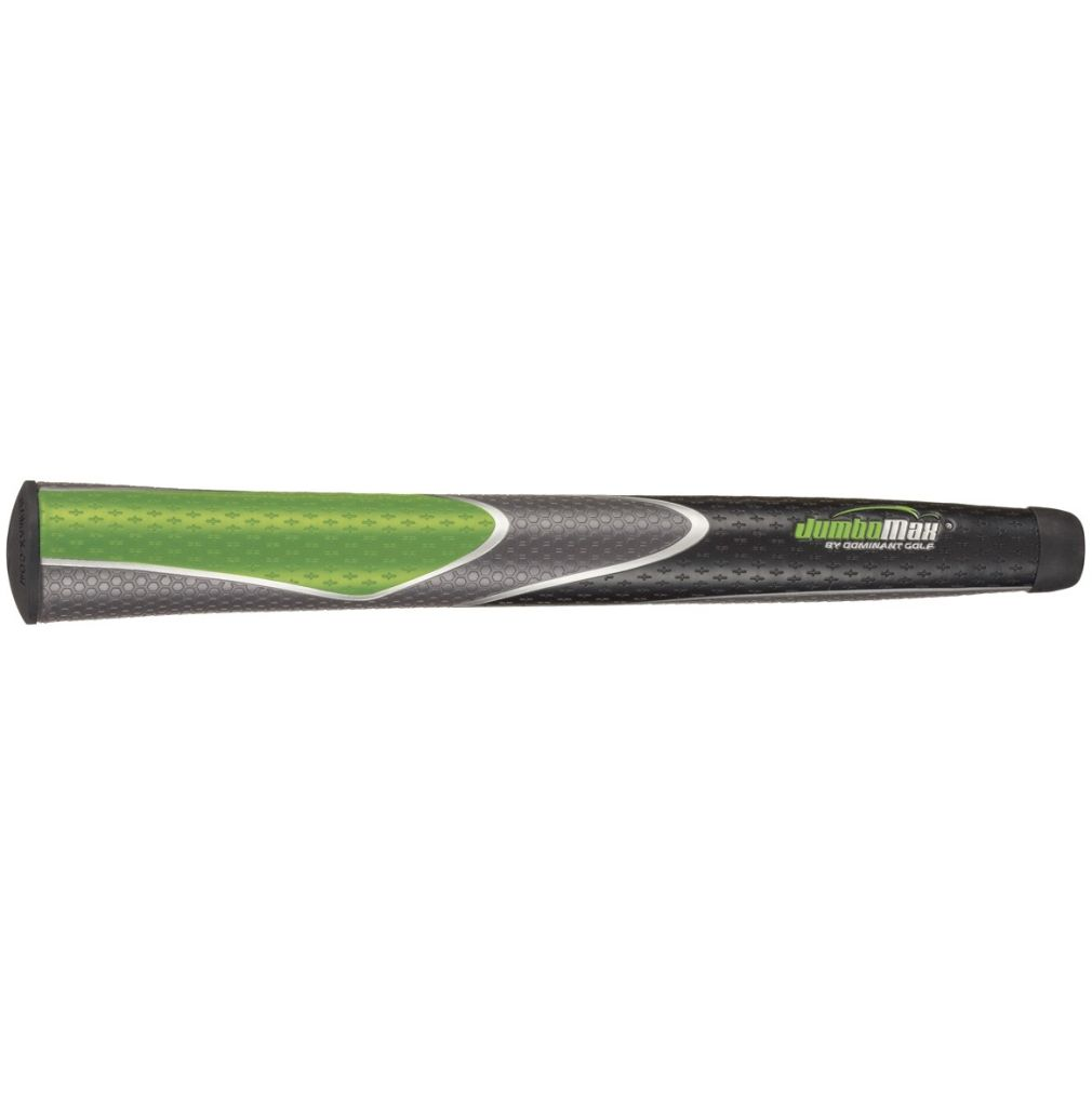 "JumboMax Tour Series Medium Lime/Black/Grey +5/16"" Golf Grip"
