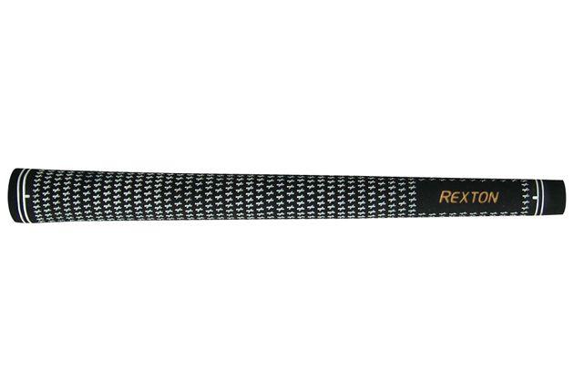 """Rexton Oversize (+1/16"""") White/Black Velvet Grip"""