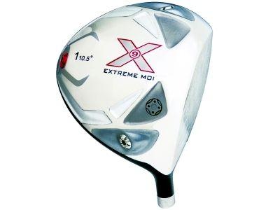 Built X9 Extreme MOI Titanium Driver + 2 x Fairway Woods RH