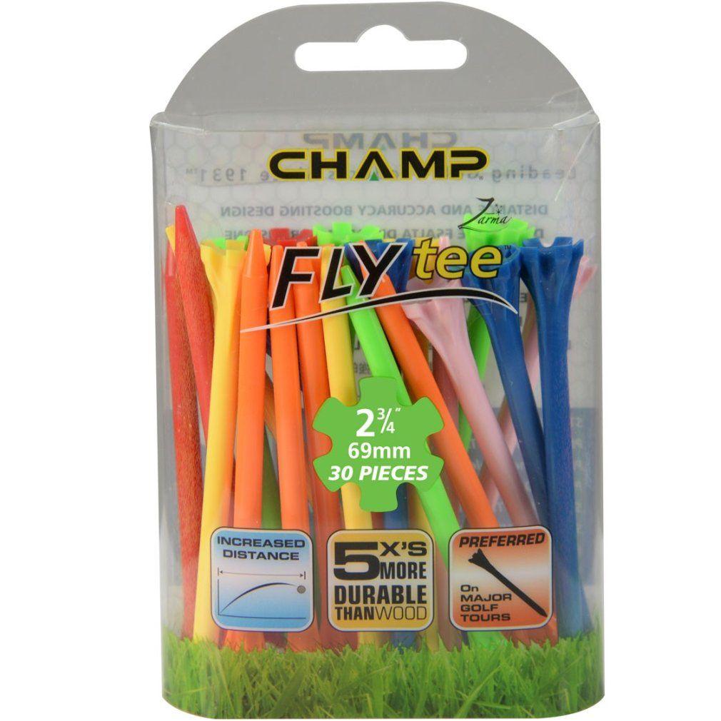 "Champ Zarma FLYTee - 2.75"" Mixed Golf Tees 30 pack"