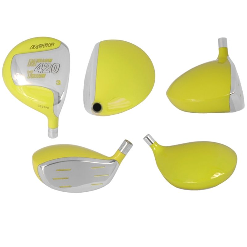 Bang Golf Mellow Yellow Fairway Wood Heads