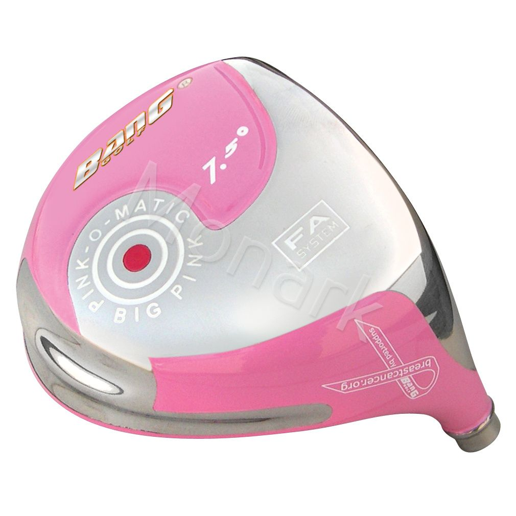 Custom-Built Bang Golf Pink-O-Matic 401 Pink Beta Titanium Driver
