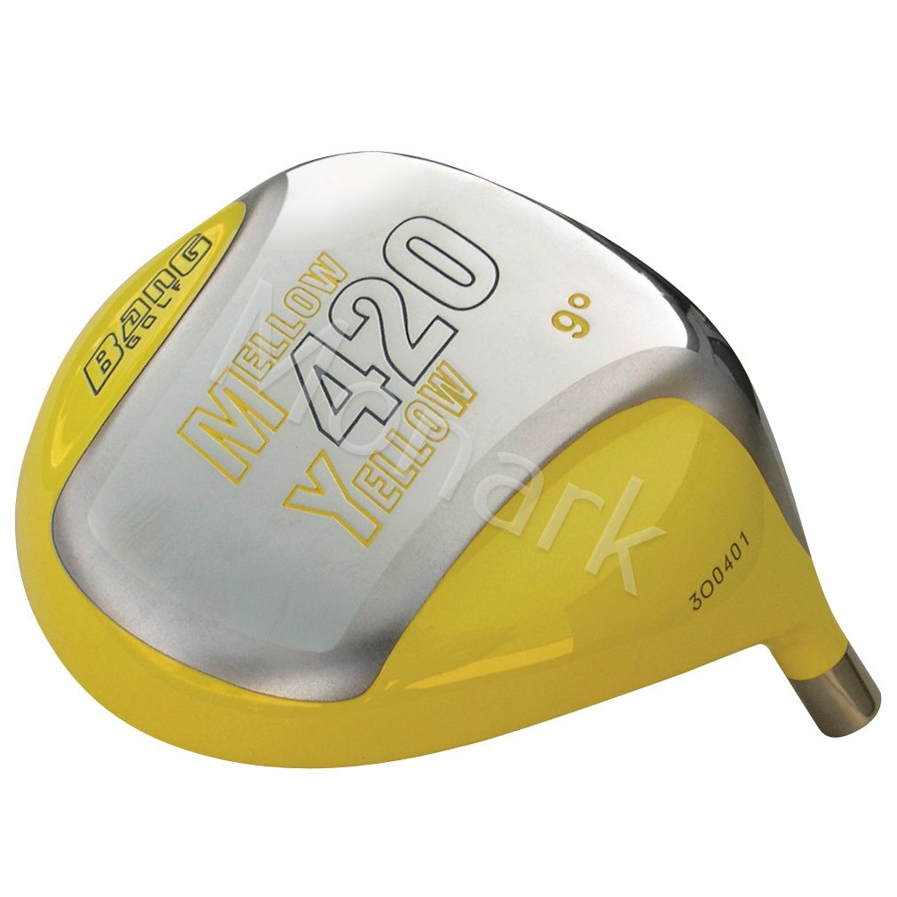 Custom-Built Bang Golf Mellow Yellow 420cc Beta Titanium Driver
