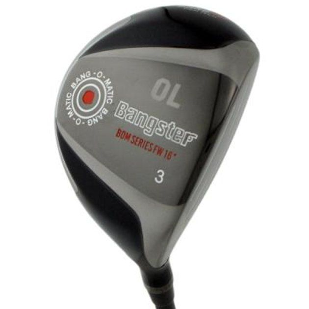 Custom-Built Bang Golf Bangster Maraging TiCN Fairway Woods