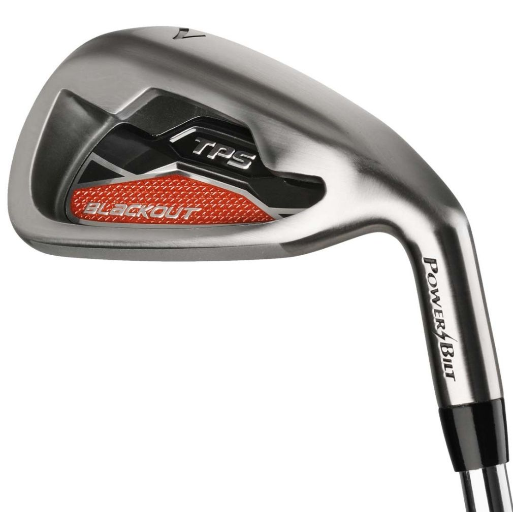 Powerbilt Golf Blackout Iron Set 5-SW Mens