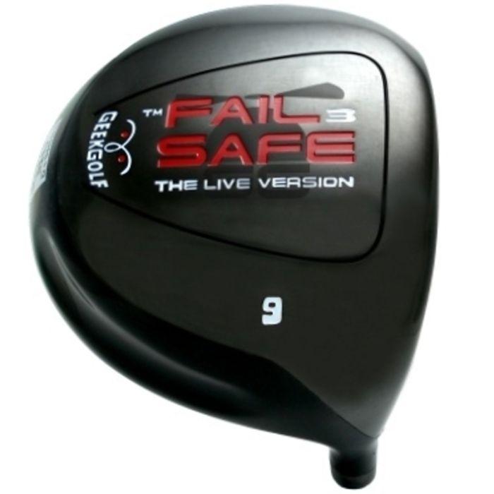 Custom-Built Geek Golf Fail-Safe-3 Titanium Driver