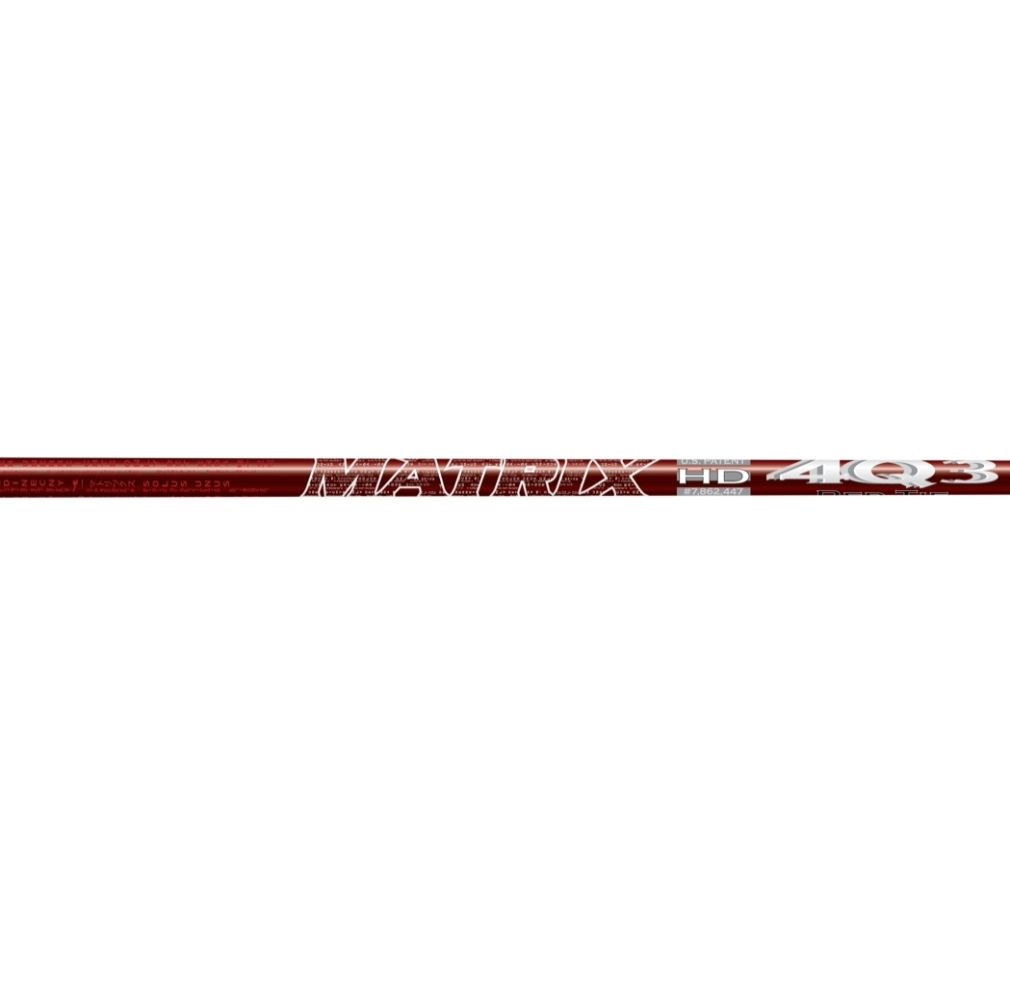 Matrix Ozik Red Tie 4Q3 Graphite Wood Shaft