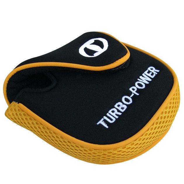 Turbo Power Yellow/Black Putter Headcover Left Hand