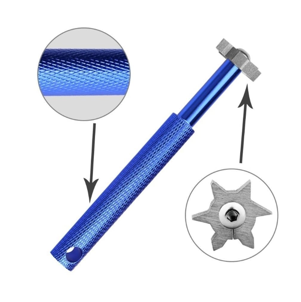 Golf Club Groove Sharpener Tool - Blue