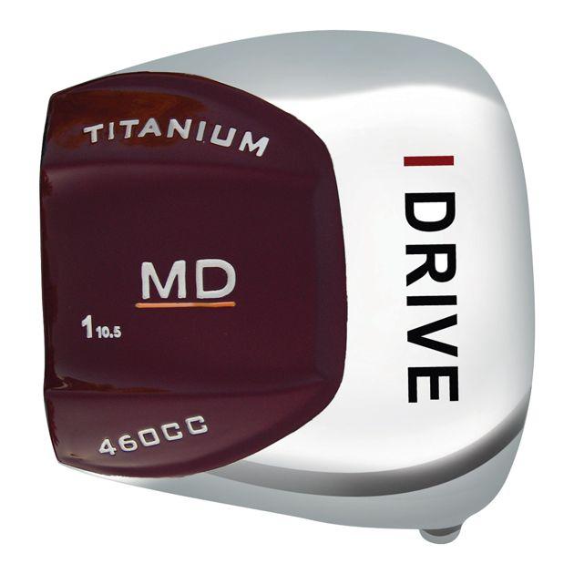 i-Drive MD Titanium Offset Driver Head