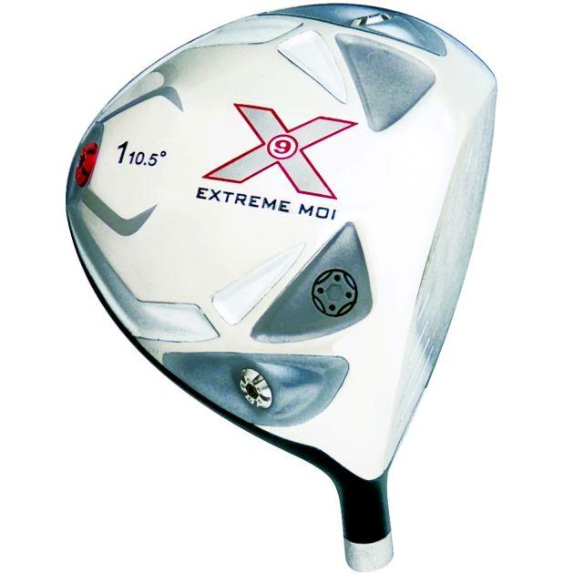 X9 Tri Extreme MOI Titanium Driver Head Left Hand