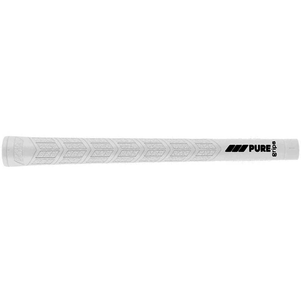 Pure Grips DTX Midsize White Golf Grips