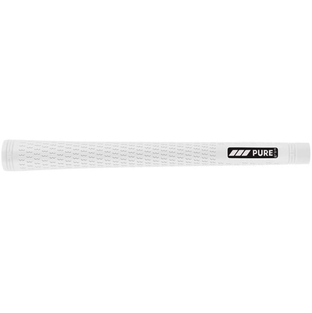 Pure Grips Pro Undersize White Golf Grips