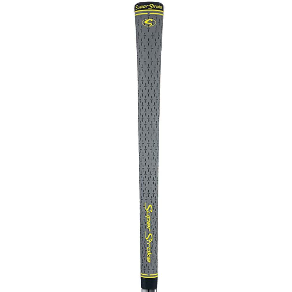 """Winn Dri-Tac Midsize (+1/16"""") Dark-Gray Grip Kit"""